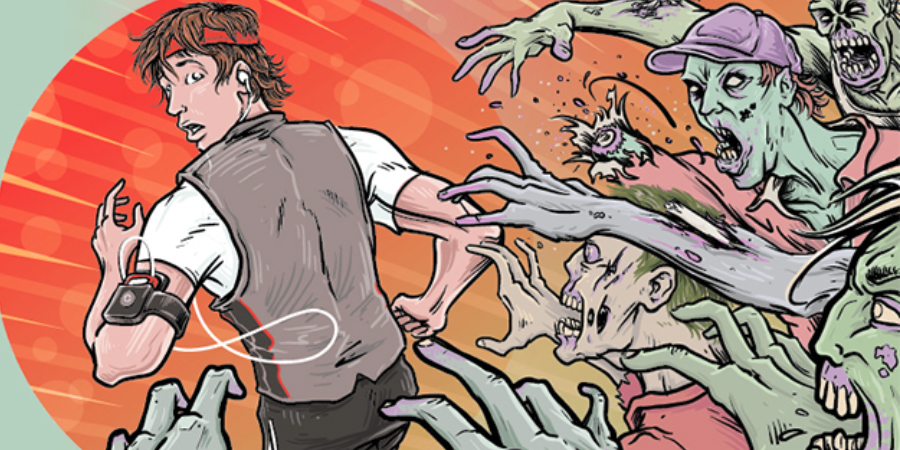 Zombie Run - Ứng dụng theo dõi sức khỏe thú vị